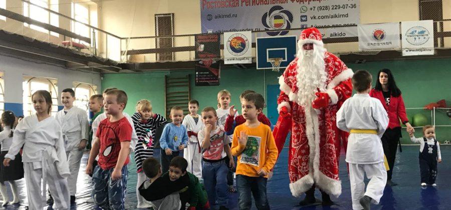 Детский праздник и аттестация 21.12.2019